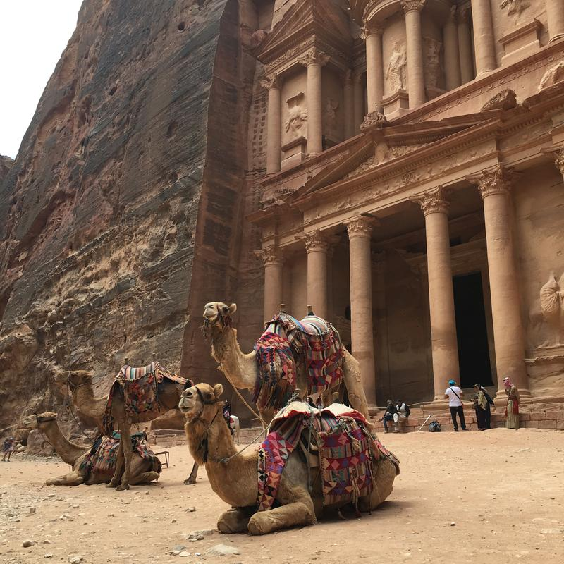 Petra's most famous site, the Treasury, was actually a tomb. (Photo Credit: ©Joni Sweet)