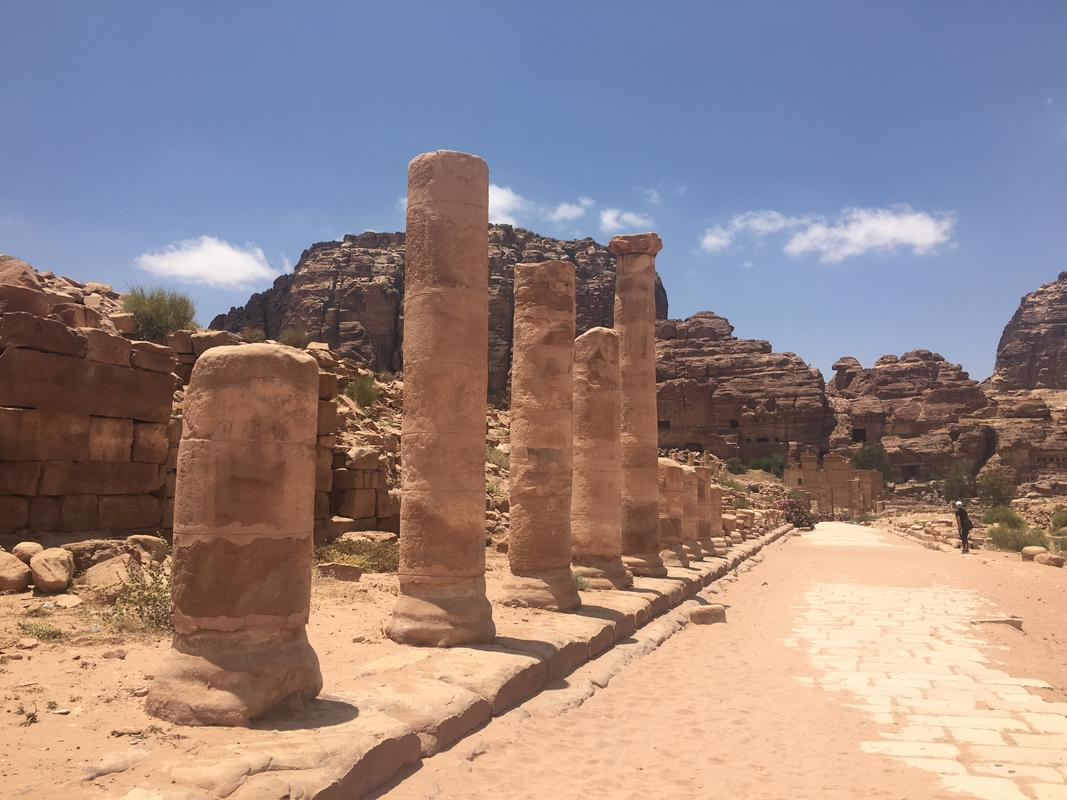 Earthquakes damaged the columns that once lined the Colonnaded Street. (Photo Credit: ©Joni Sweet)