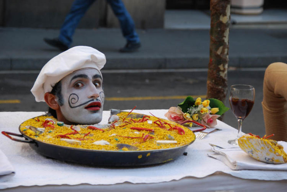 """Ingenious Street Artist @ La Rambla"" by SpirosK Photography via Flickr Creative Commons"