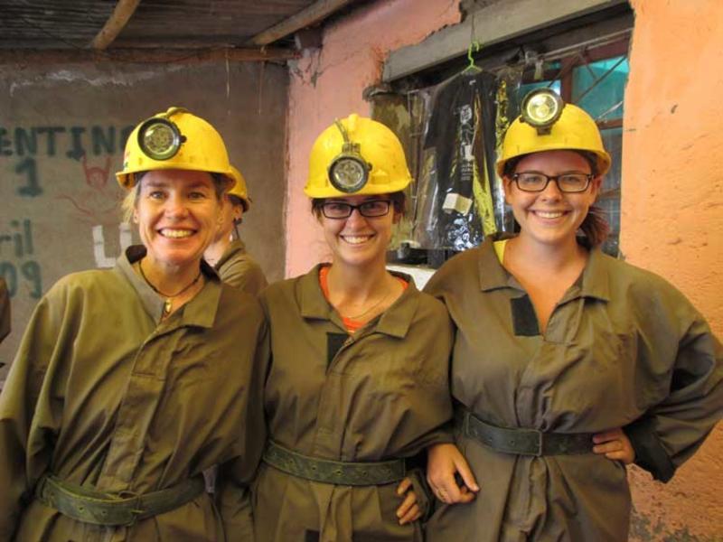 Proper gear for the bolivian silver mine