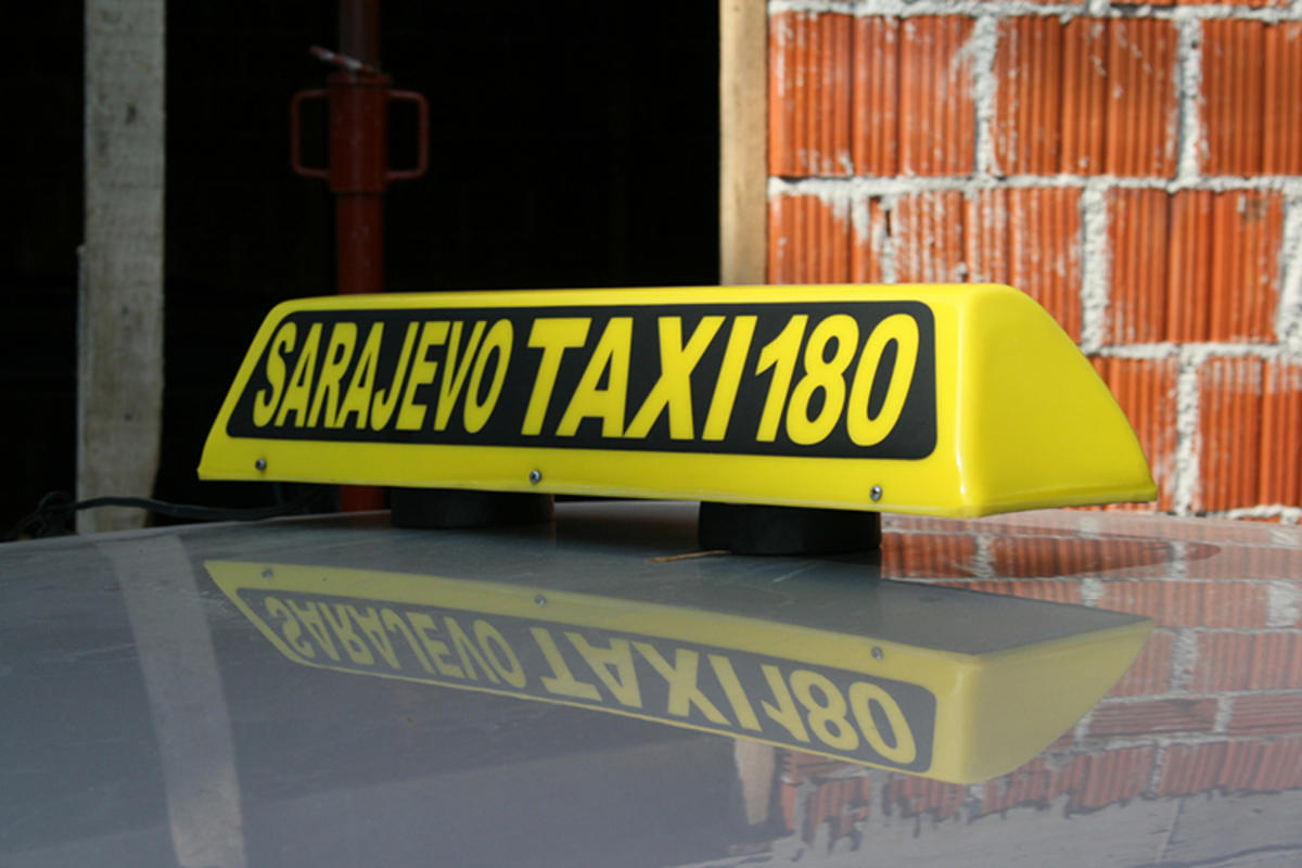 """Sarajevo Taxi 180"" by Oliver Wagemann via Flickr Creative Commons"