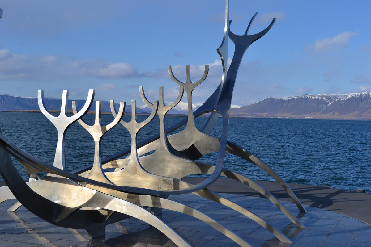"""Sun Voyager"" sculpture"" by Eenwall via Flickr Creative Commons"