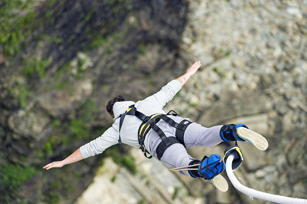 """Bungee Jumping I"" by Tambako via Flickr Creative Commons"