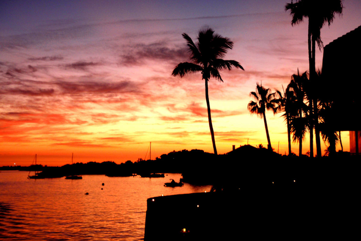 """Sunset; Hamilton, Bermuda"" by Bill via Flickr Creative Commons"