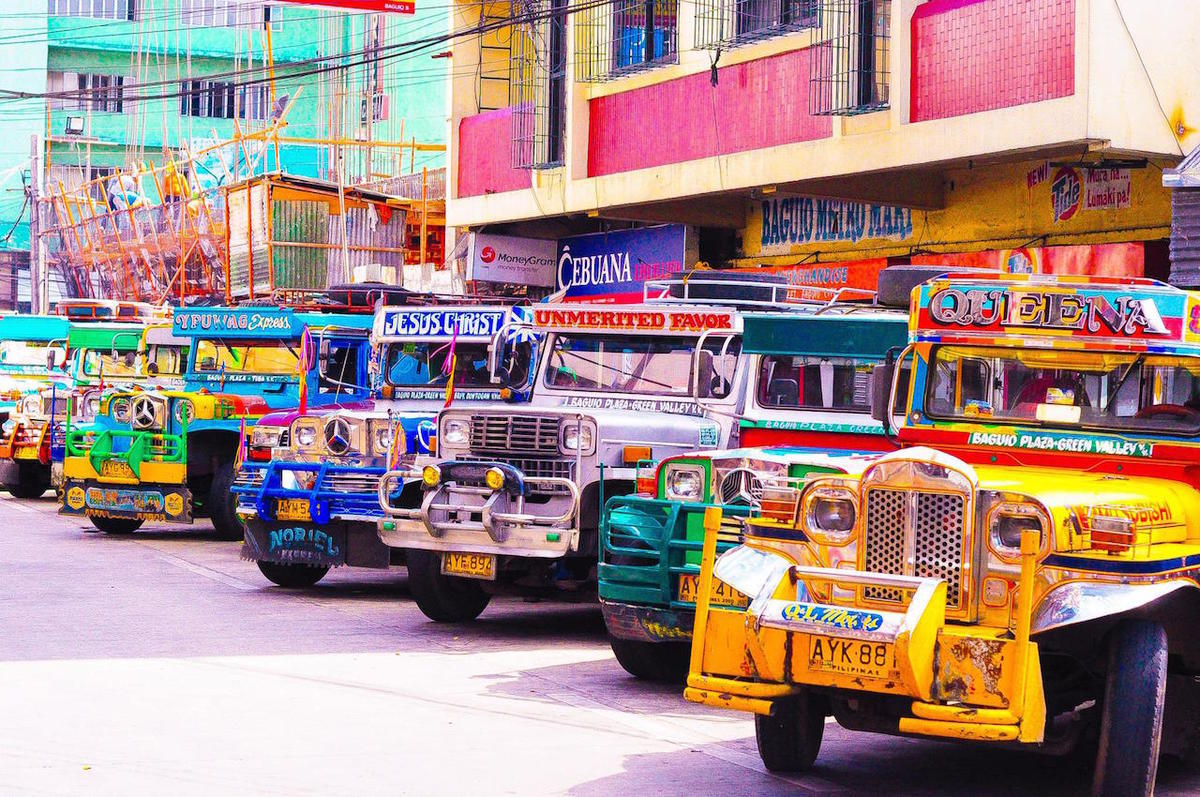 """Jeepneys"" by Jeff Jacinto via Flickr Creative Commons"