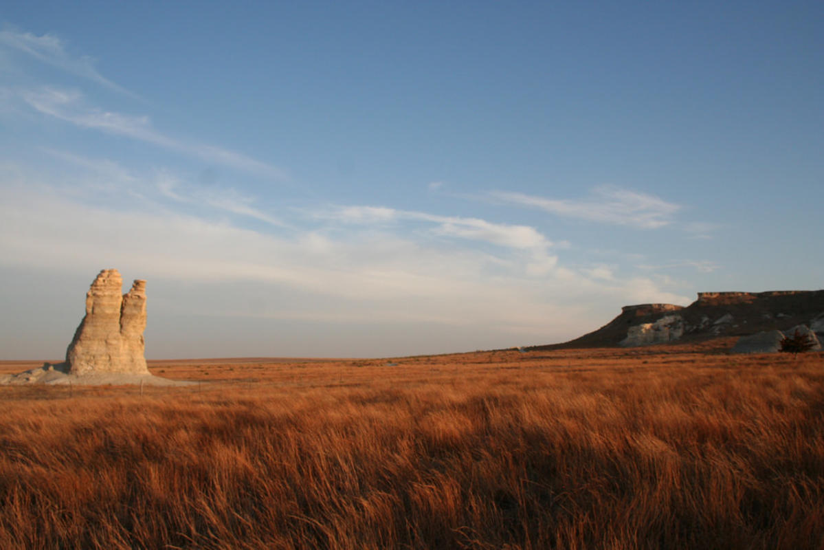 """Castle Rock, KANSAS"" by Sarah Liberty via Flickr Creative Commons"