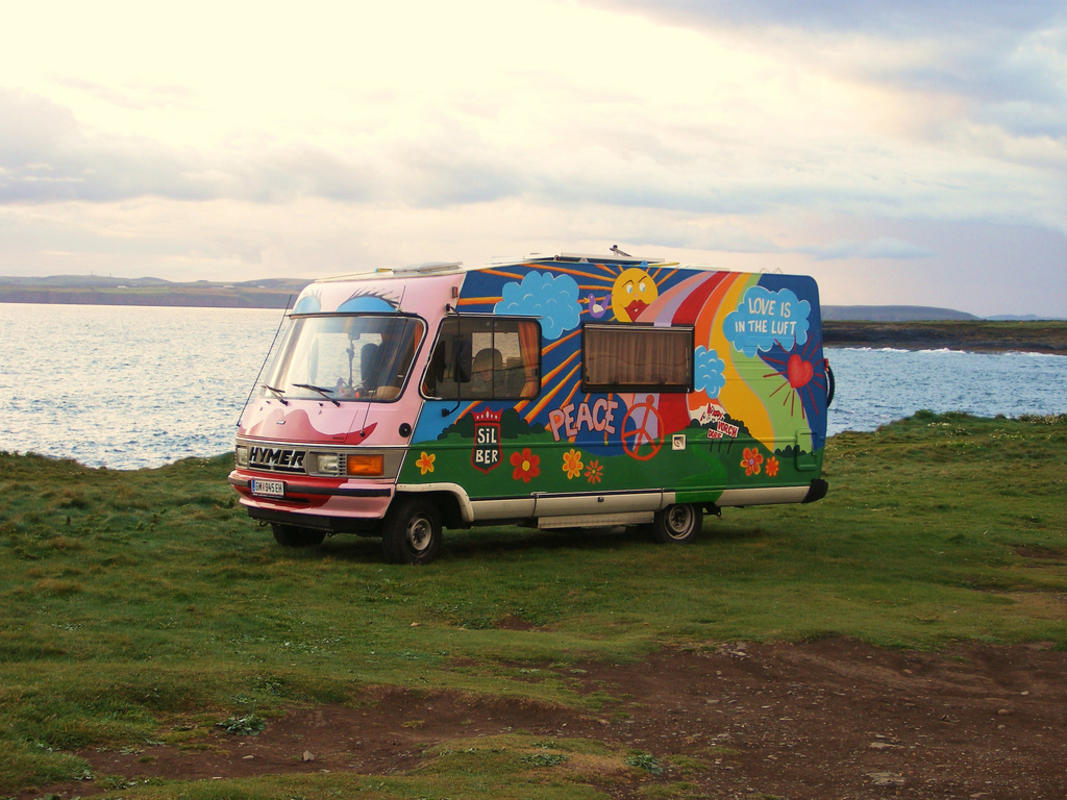 """Van on Hook Head"" by Aoife Maguire via Flickr Creative Commons"