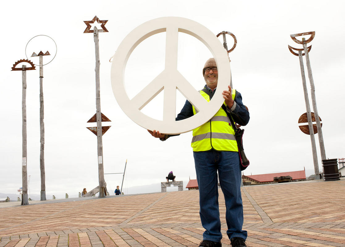 """Peace Signs"" by Wellington City Council via Flickr Creative Commons"