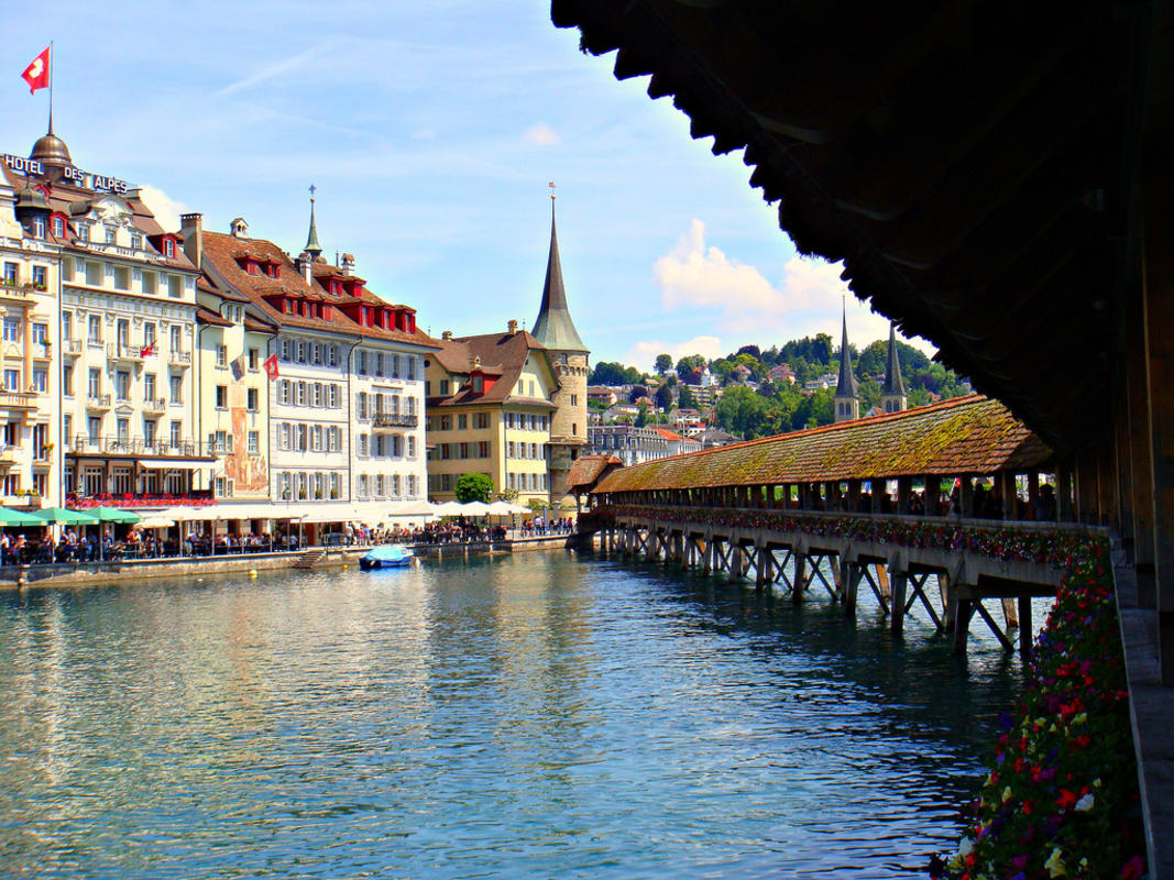 """Lucerne, Switzerland"" by CameliaTWU via Flickr Creative Commons"
