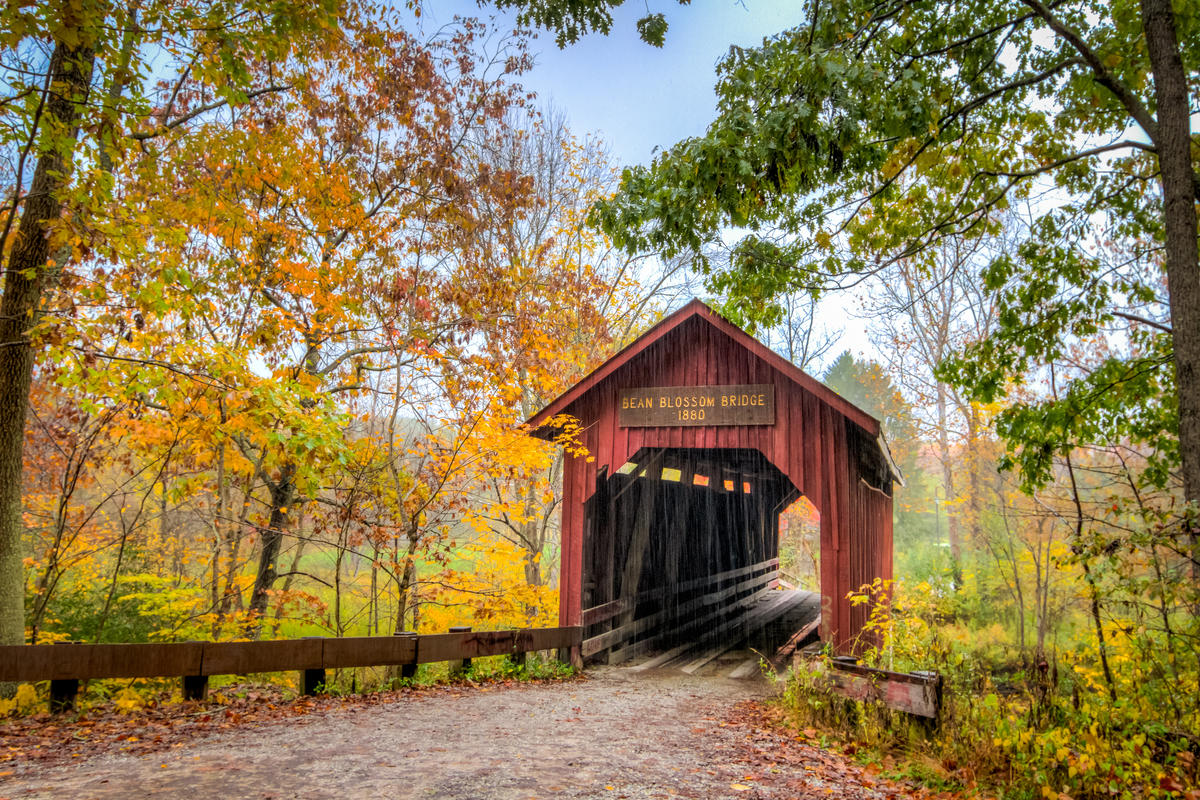 Covered Bridges Fall