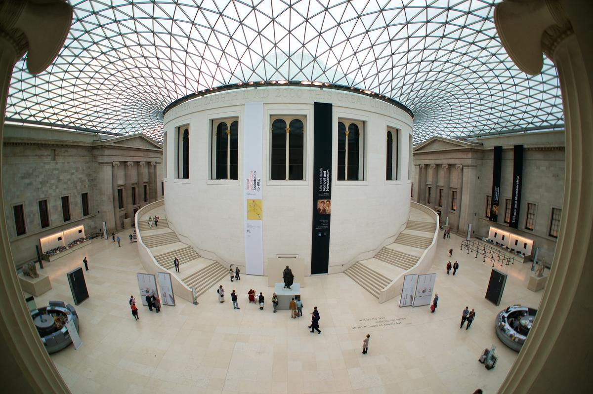 """British Museum Great Court"" by Paul Hudson via Flickr Creative Commons"