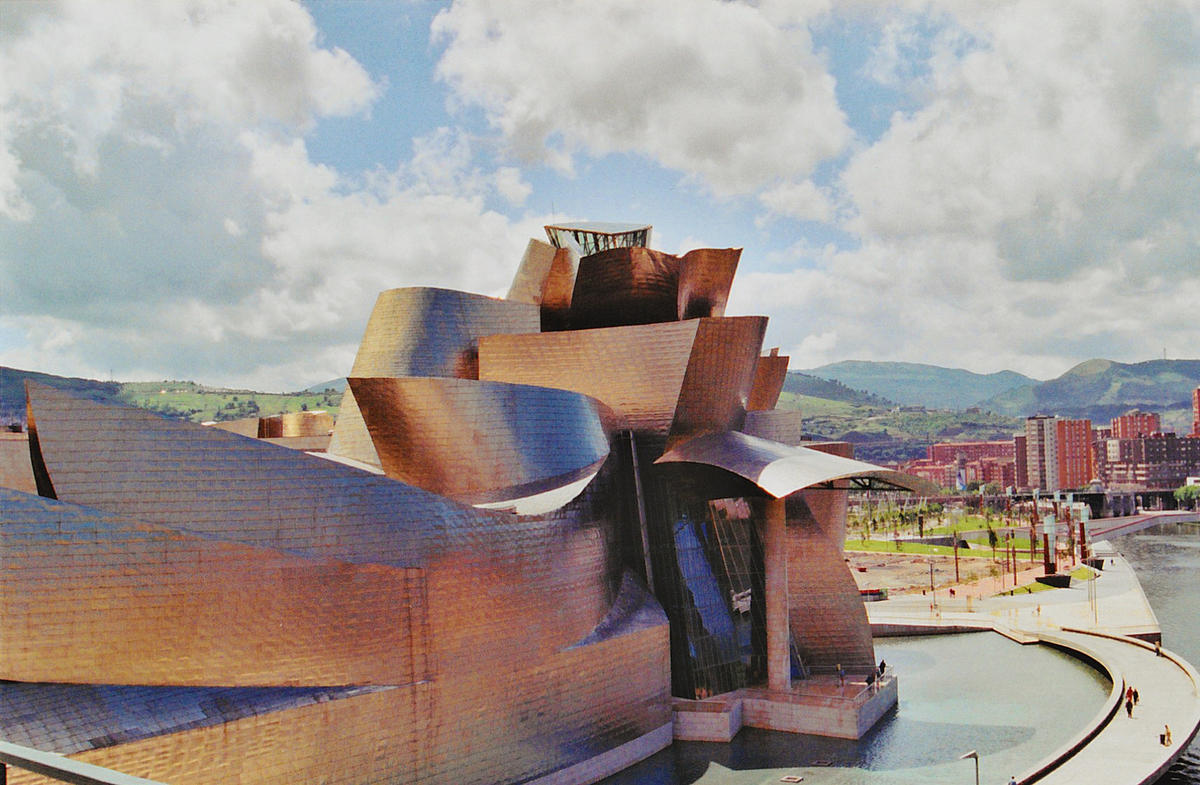 """Gorgeous Guggenheim, Bilbao"" by SarahTz via Flickr Creative Commons"