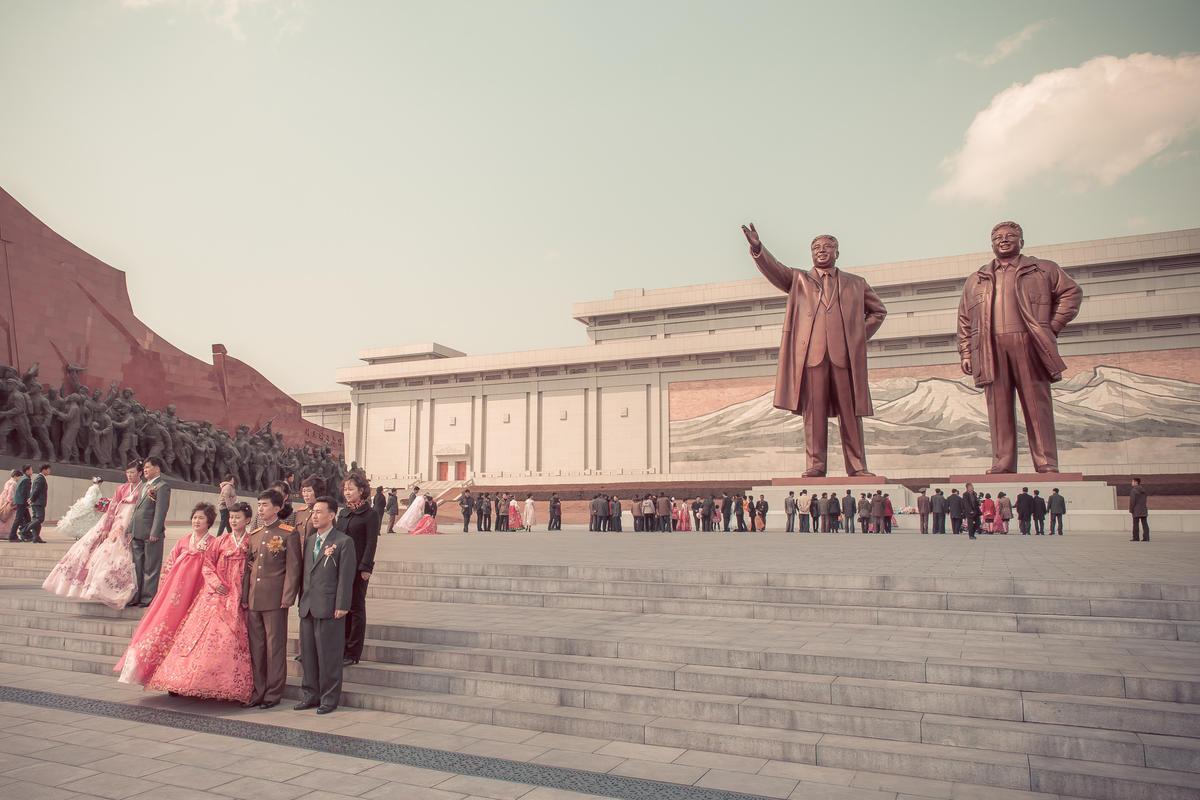 """""""38e Parallèle Nord - Pyongyang // DPRK"""" by Hélène Veilleux via Flickr Creative Commons"""