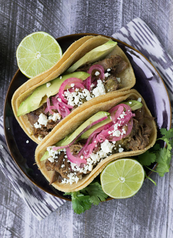 """Lamb Carnitas Tacos with Roasted Tomatillo Salsa"" by Shanna S via Flickr Creative Commons"