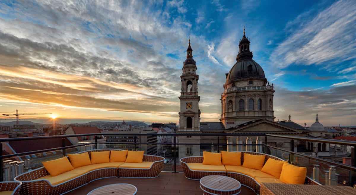 Aria Hotel Budapest Rooftop