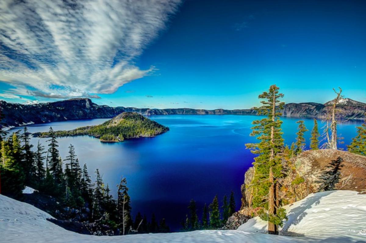 """Crater Lake At Sunset"" by Howard Ignatius via Flickr Creative Commons"