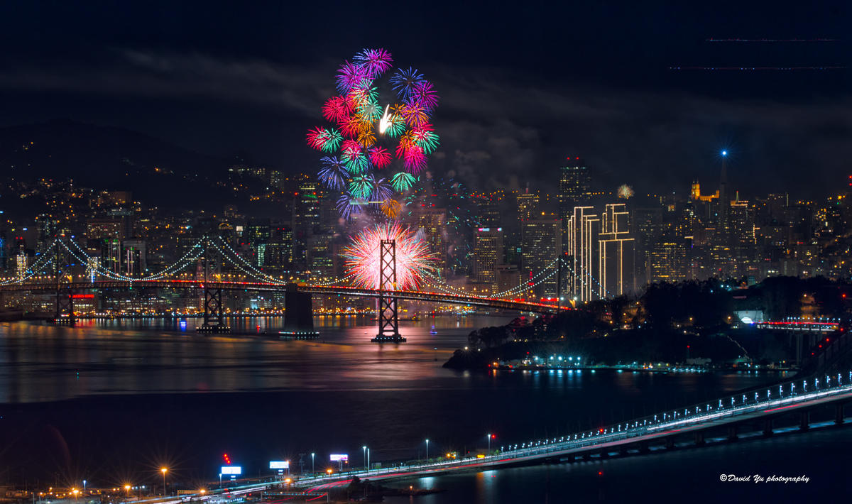 """New Year 2015 Fireworks"" by David Yu via Flickr Creative Commons"