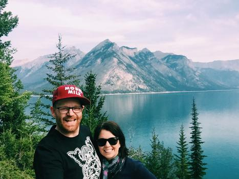 Dave and i in banff 2