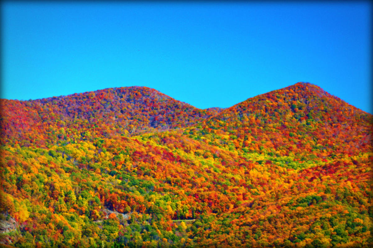 """Blue Ridge Mountains"" by Steviep187 via Flickr Creative Commons"