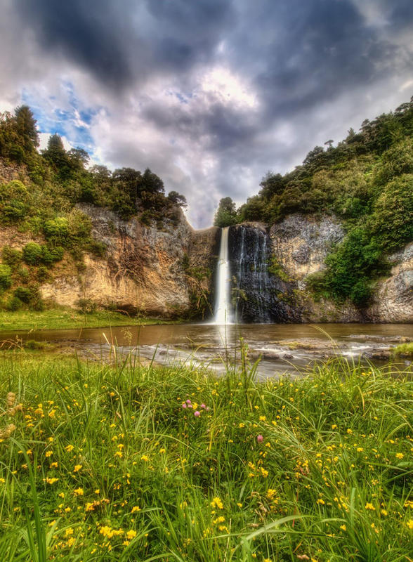 """Hunua Falls II"" by Chris Gin via Flickr Creative Commons"