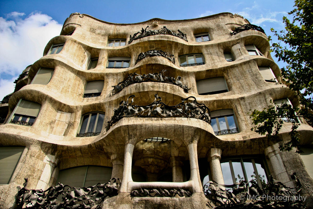 """Casa Mila"" by Ian Gampon via Flickr Creative Commons"
