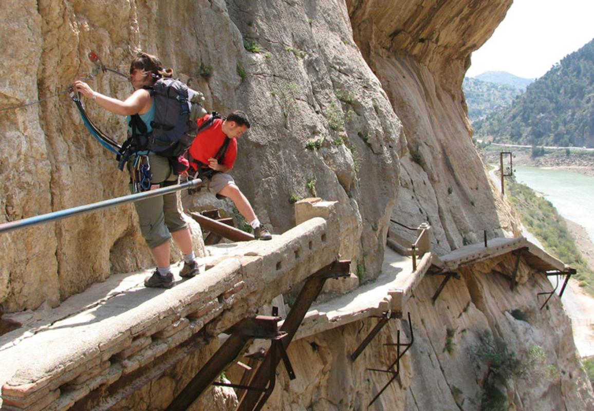 """Caminito del Rey"" by Gabi via Flickr Creative Commons"