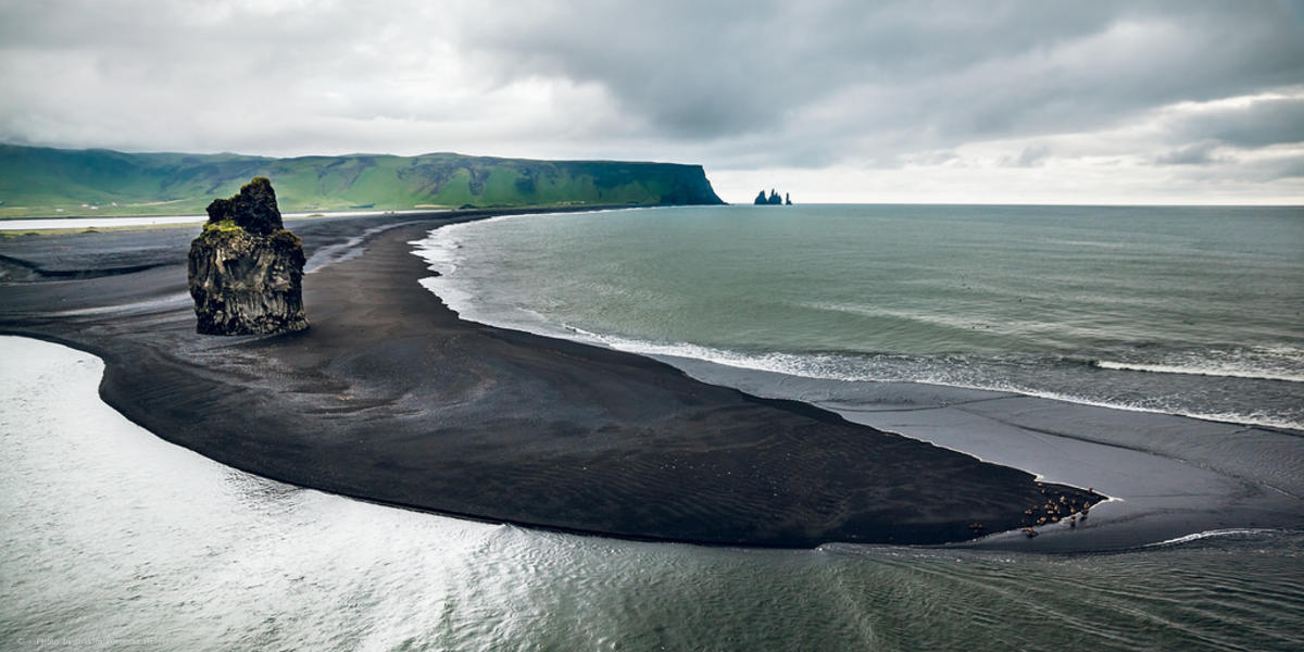 """Black Sand Beach"" by Joakim Poromaa Helger via Flickr Creative Commons"