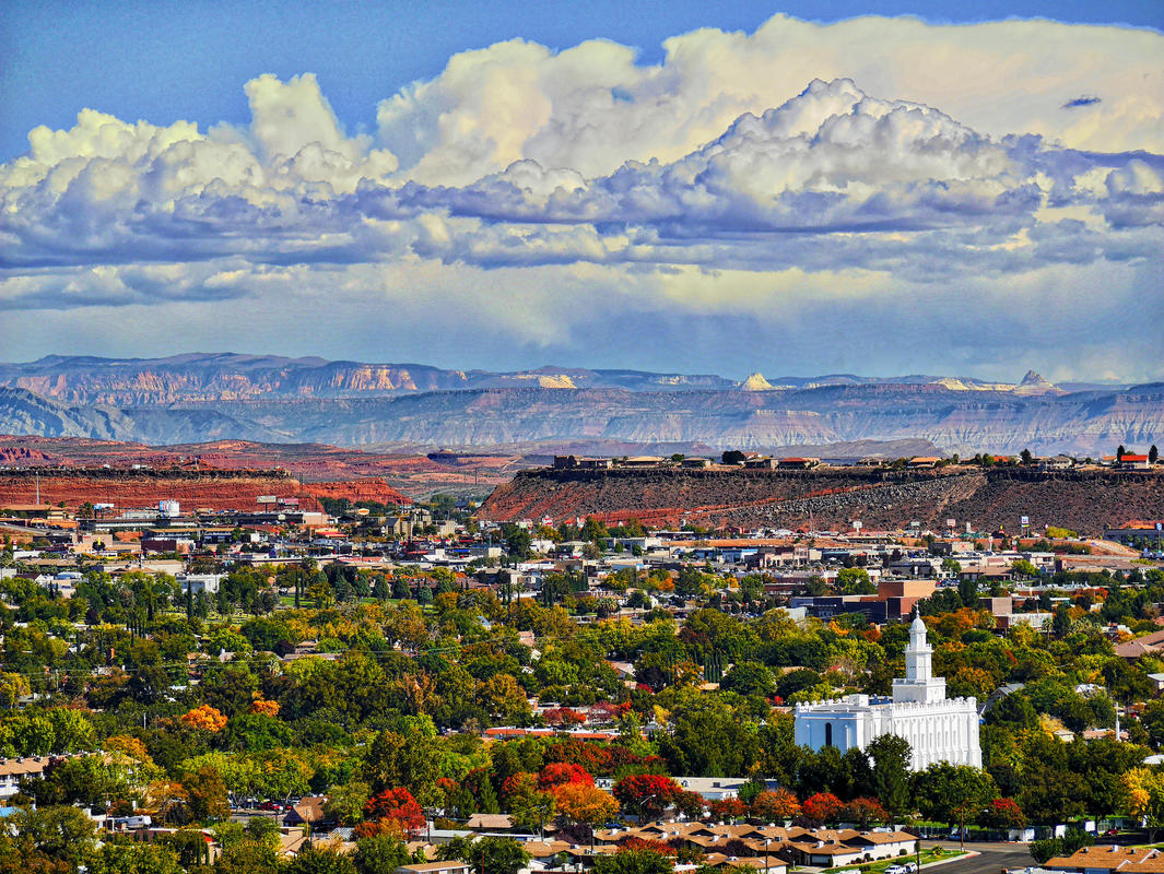 """And Fall starts in St George"" by Carl Berger Sr via Flickr Creative Commons"
