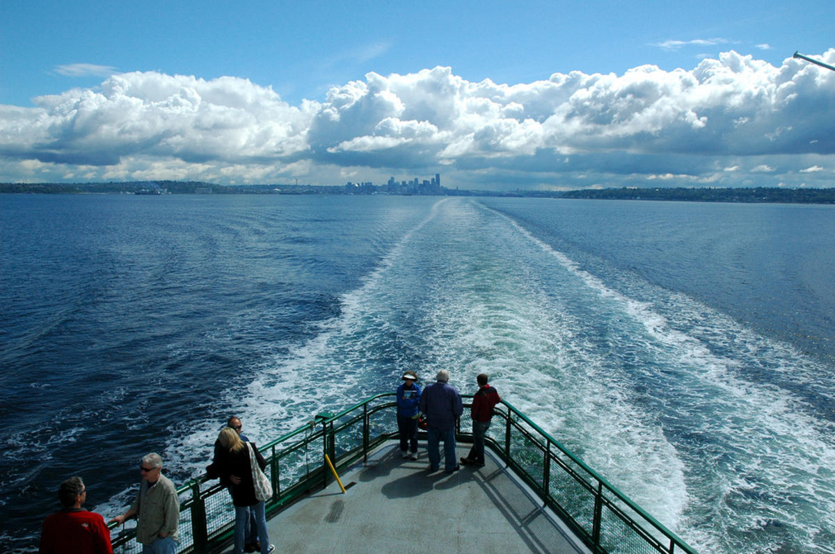 """Seattle to Bainbridge Ferry"" by Joenevill via Flickr Creative Commons"