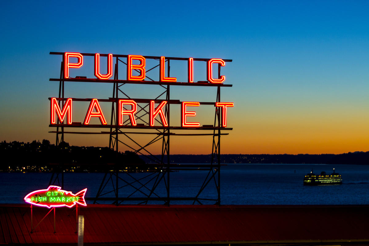 """Pike Place Market"" by Tiffany Von Arnim via Flickr Creative Commons"