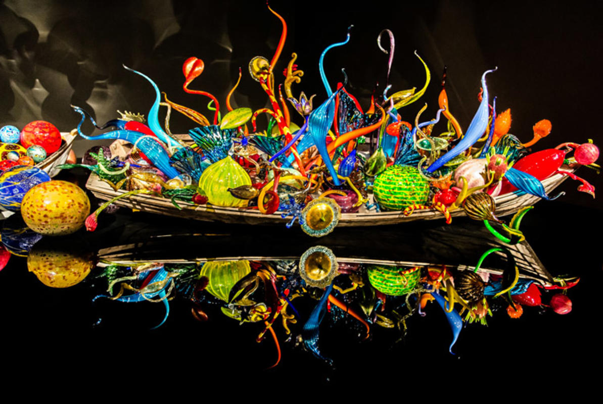 """Chihuly Garden and Glass"" by Richard Ricciardi via Flickr Creative Commons"