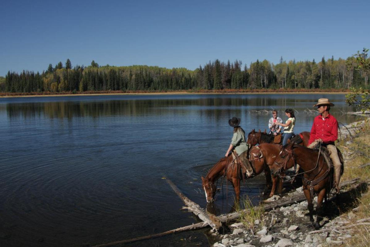 """Watering the Horses at High Lake"" by Andy Dittrich via Flickr Creative Commons"
