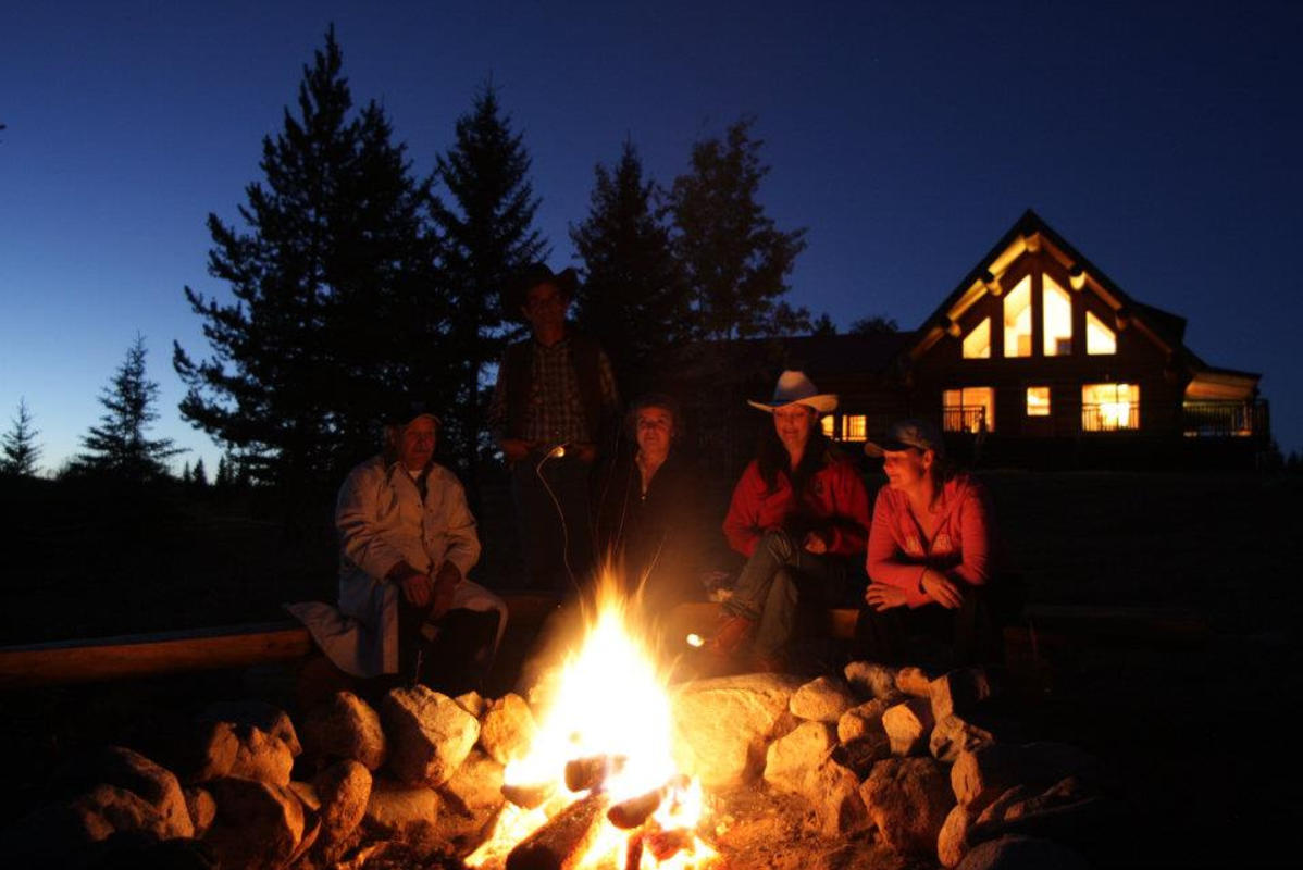 """Campfires at Twilight"" by Ranch Seeker via Flickr Creative Commons"