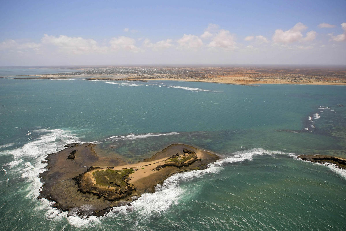 Aerial View near Kismayo, South Somalia by United Nations Photo via Flickr Creative Commons
