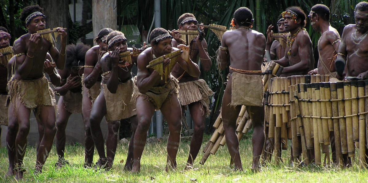 Beautiful Music of the Solomon Islands by Michael Porter via Flickr Creative Commons