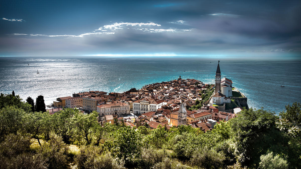 Piran, Slovenia by Bernd Thaller via Flickr Creative Commons