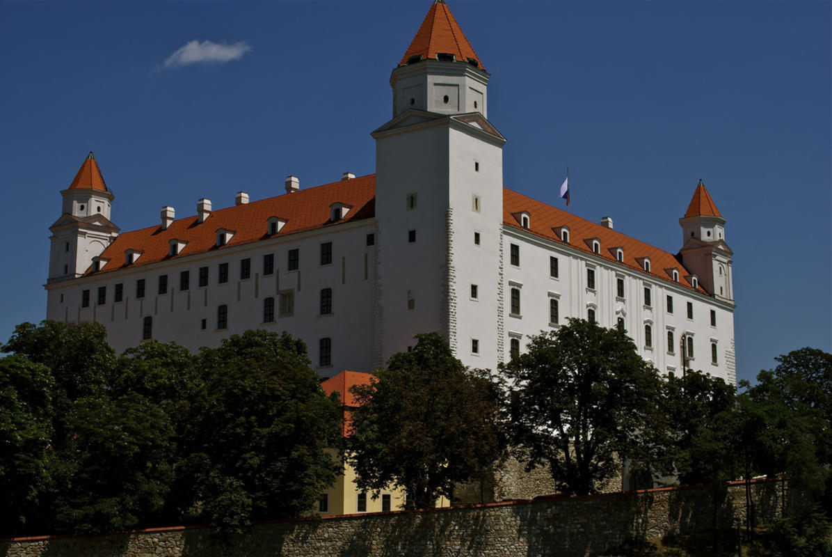 Bratislava Castle by Almost Suma via Flickr Creative Commons