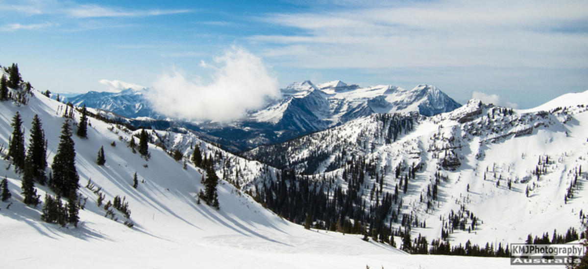 """Wasatch Mountains Utah (Solitude Ski Resort)"" by KMJ Photography via Flickr Creative Commons"