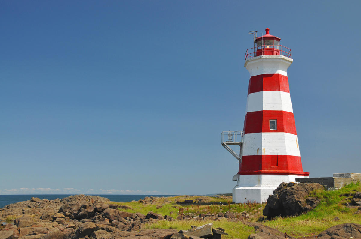 """Brier Island Lighthouse"" by Dennis Jarvis via Flickr Creative Commons"