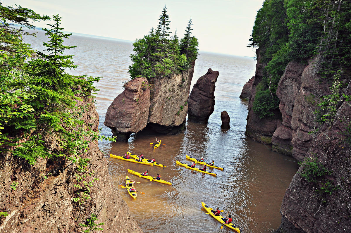 """Bay of Fundy - Hopewell Rocks - New Brunswick"" by Will Daravong via Flickr Creative Commons"