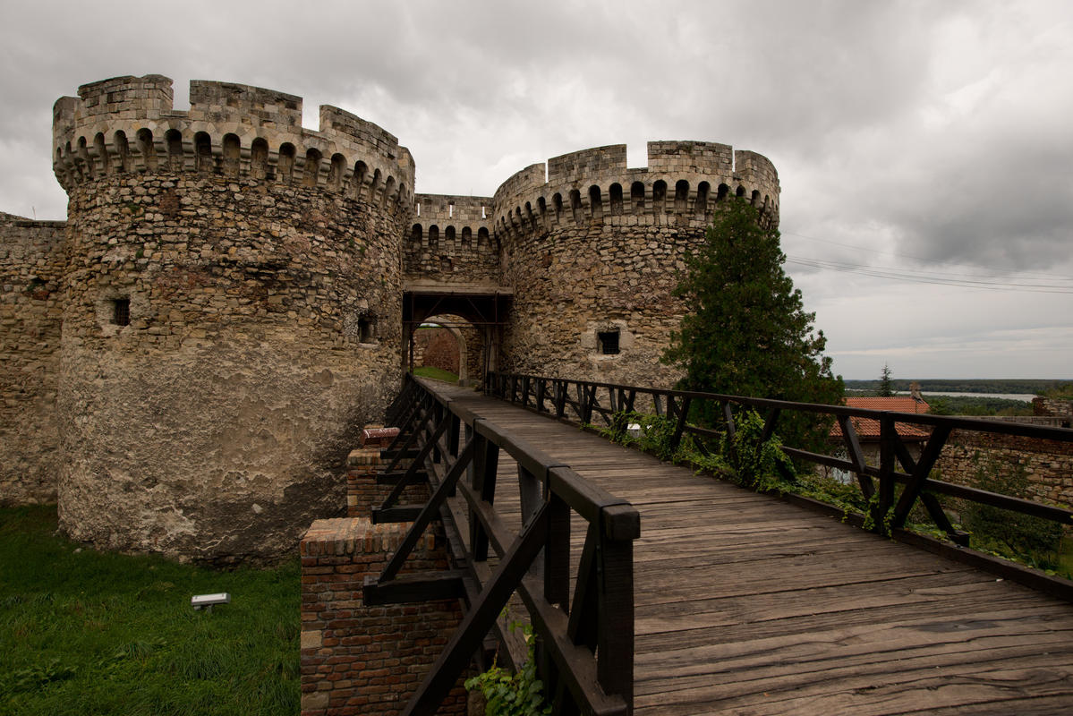 Kalemegdan fortress by De kleine rode kater via Flickr Creative Commons