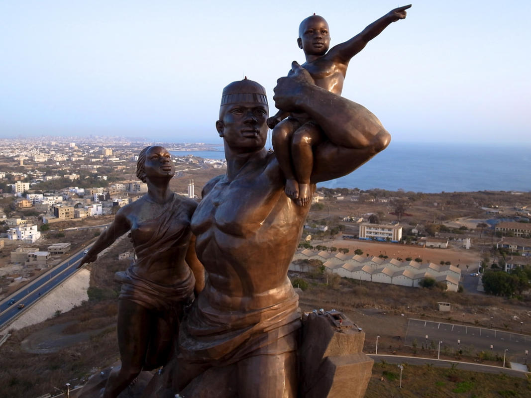 African Renaissance Monument - From Above by Jeff Attaway via Flickr Creative Commons