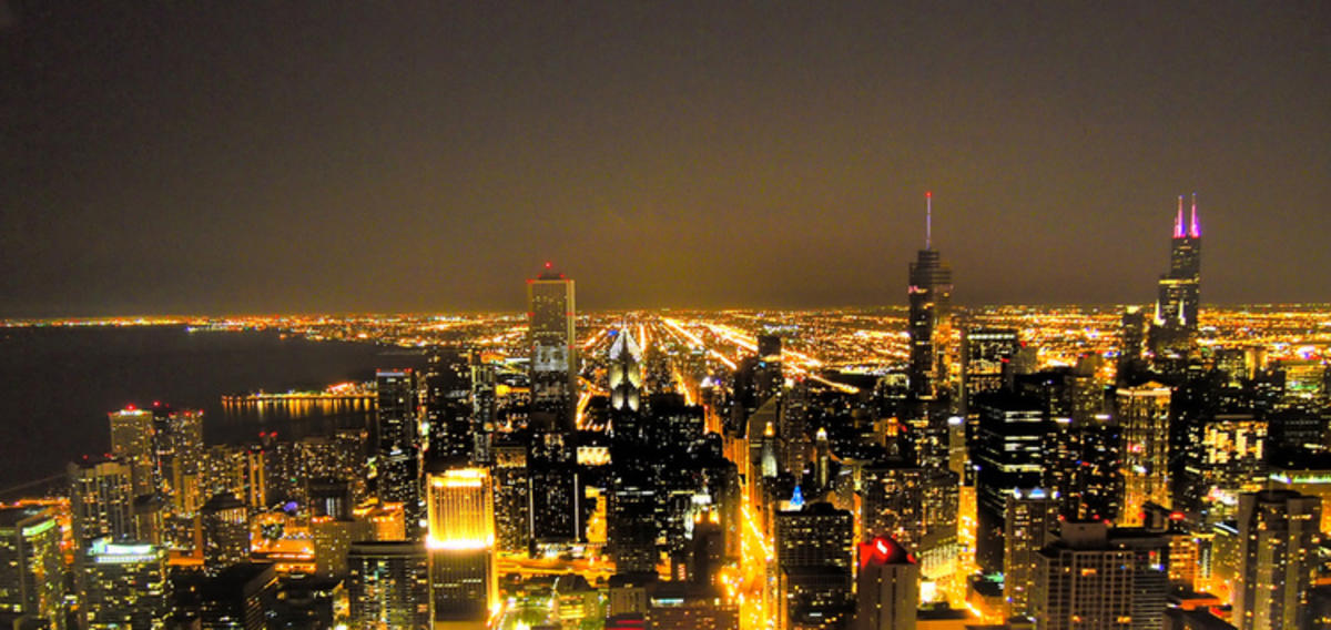 """Chicago Night"" by Geoff Livingston via Flickr Creative Commons"