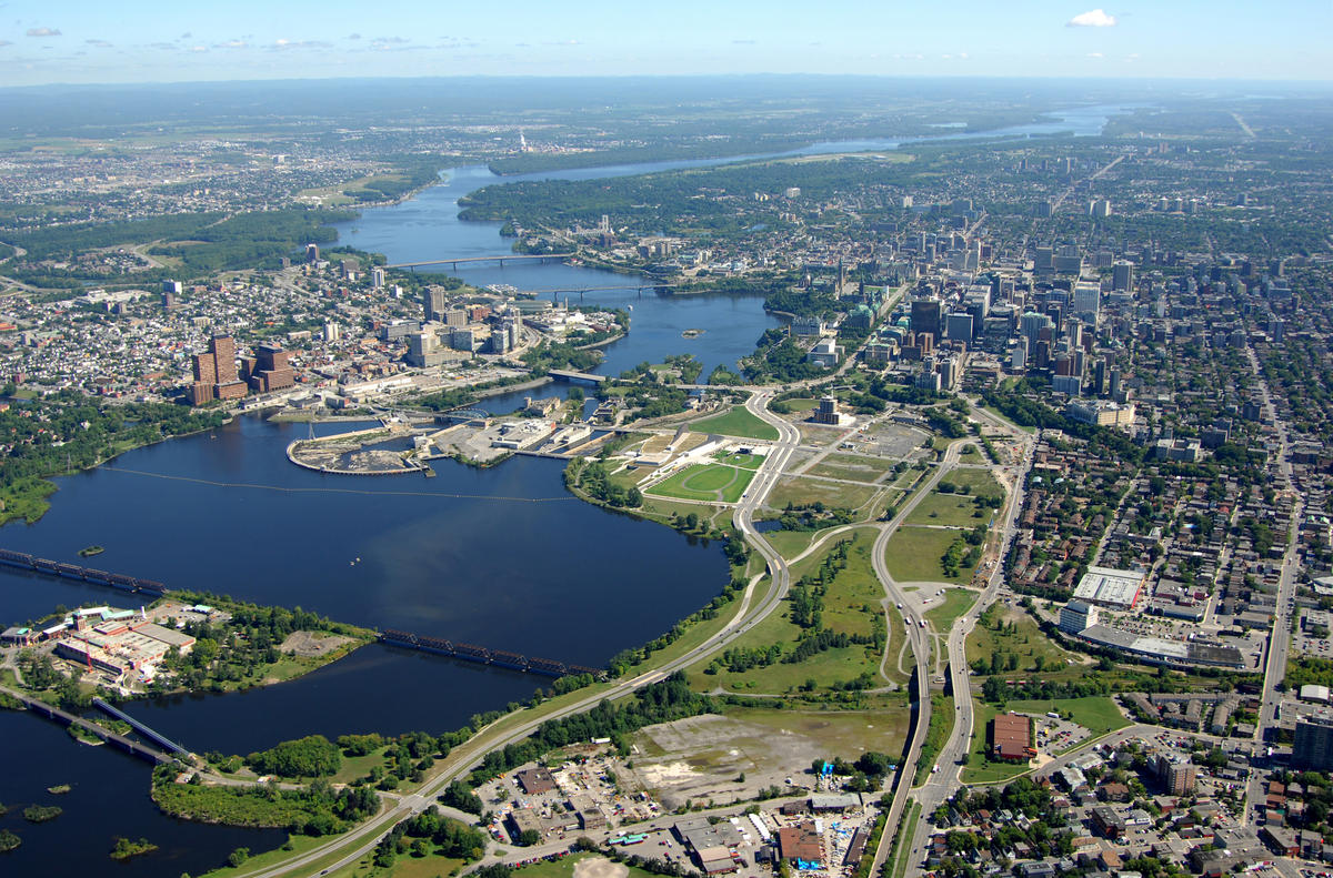 LeBreton Flats, Ottawa, ON | Plaines LeBreton, Ottawa (Ontario) by National Capital Commission (NCC) / Commission de la capitale nationale (CCN) via Flickr Creative Commons