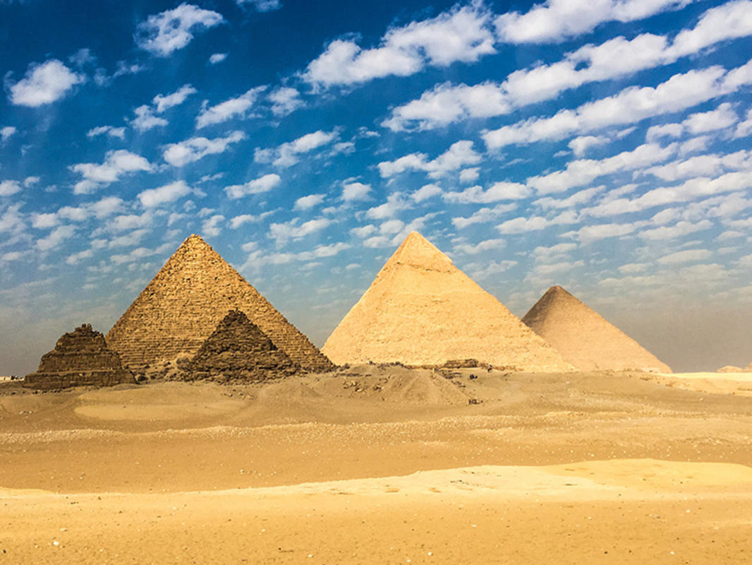 """Pyramids of Giza"" by Mark Fischer via Flickr Creative Commons"