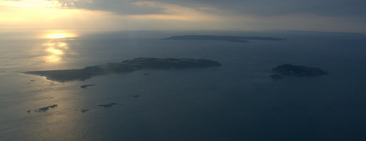 Herm, Jethou and Sark by James Stringer via Flickr Creative Commons