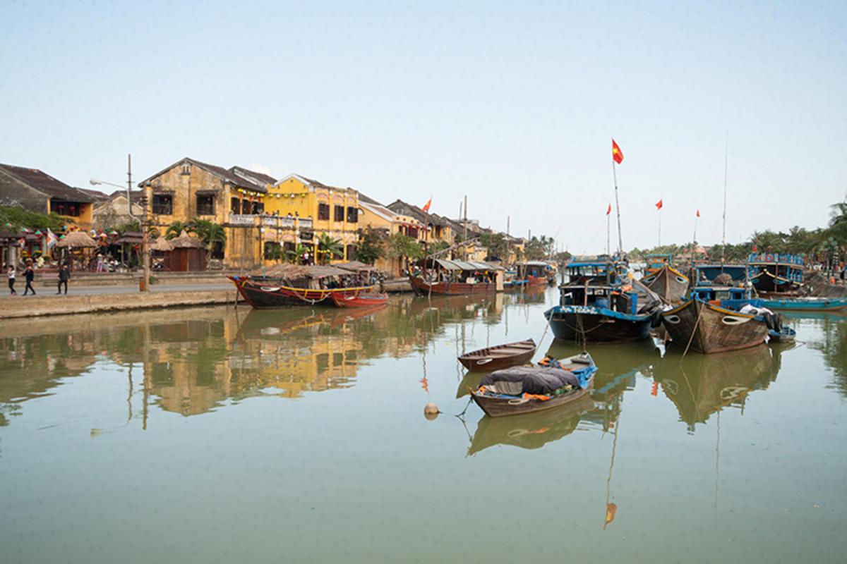 """Hoi An Riverfront"" by Gavindeas via Flickr Creative Commons"