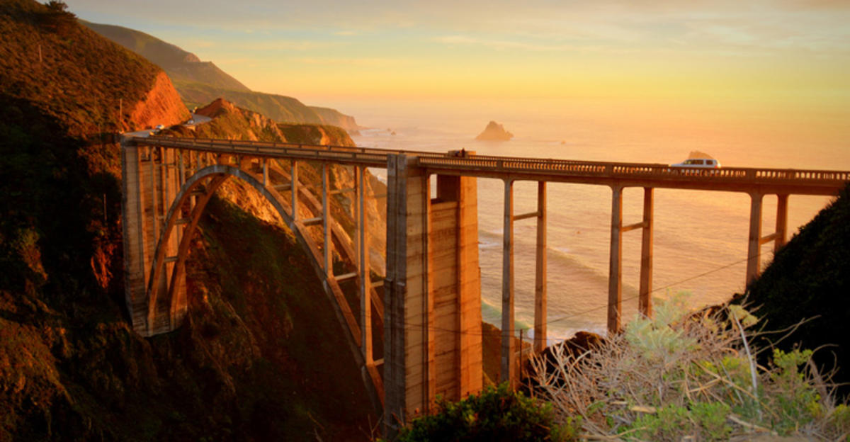 """Bixby Bridge, Pacific Coast Highway"" by Akash Gupta on Flickr Creative Commons"
