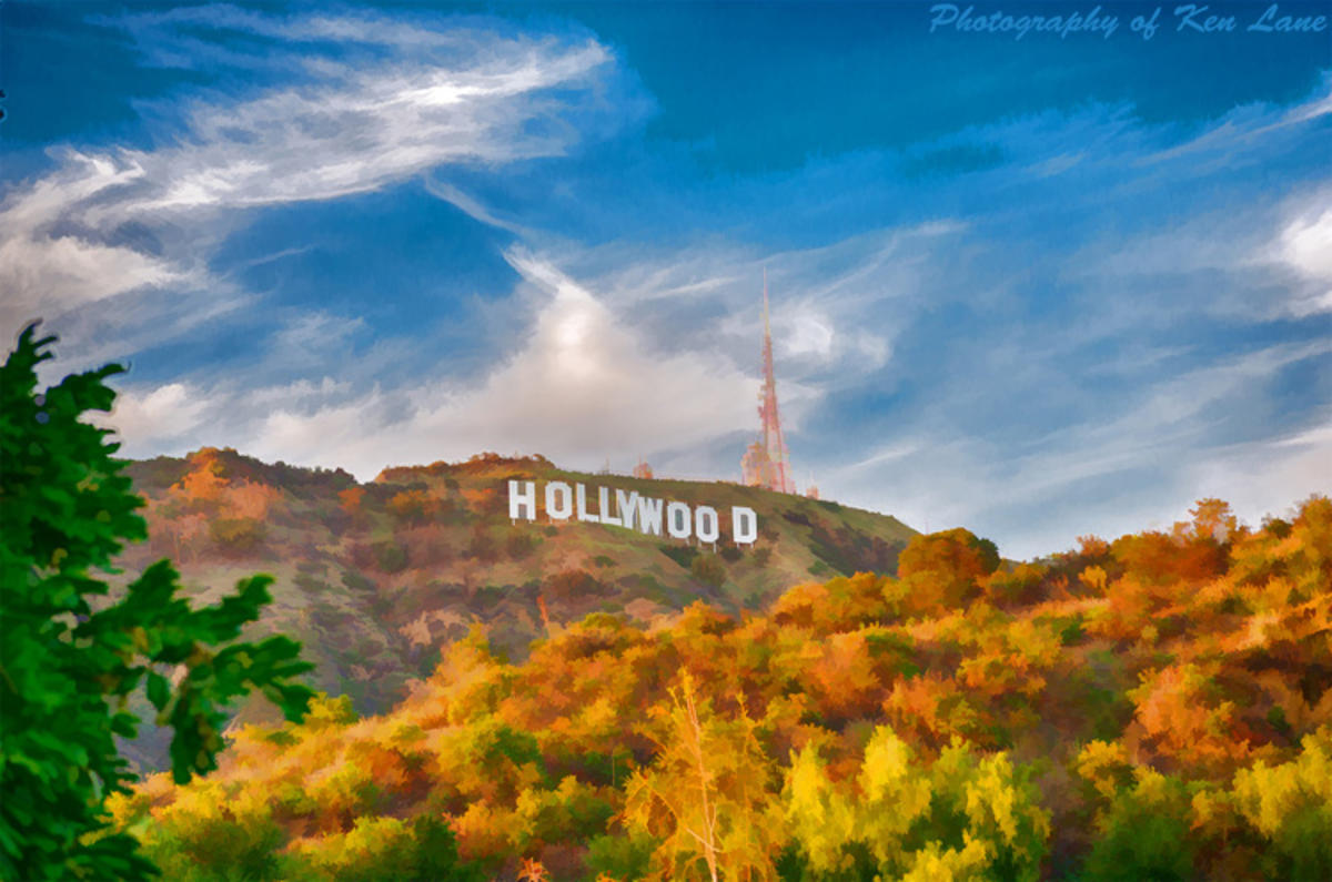 """The Hollywood Sign"" by Ken Lane via Flickr Creative Commons"