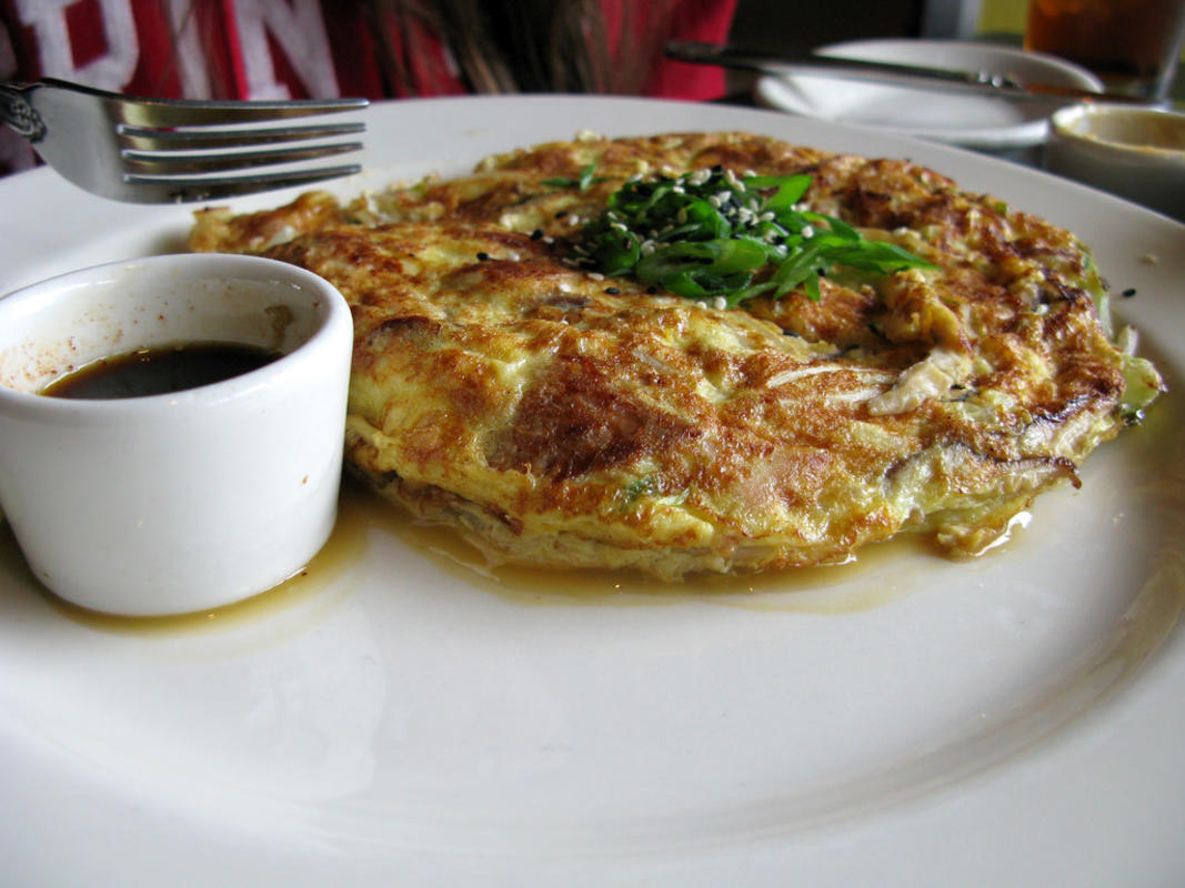 """Smoked Salmon Egg Foo Young at Etta's"" by Alicia via Flickr Creative Commons"